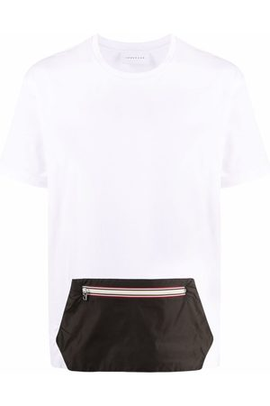 LOW BRAND Zipper pouch-pocket T-shirt