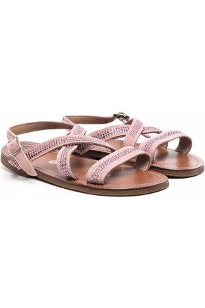 PèPè Lilla leather sandals