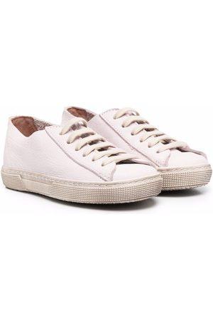 PèPè Menino Sapatos desportivos - Gessetto leather trainers