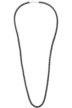 AMIR SLAMA Homem Colares - X Julio Okubo woven leather necklace