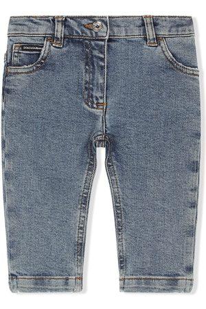 Dolce & Gabbana Menina Retos - Five-pocket straight-leg jeans