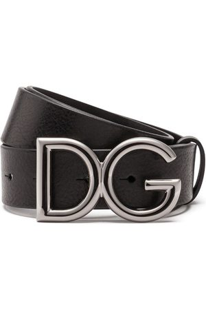Dolce & Gabbana Homem Cintos - Logo-buckle belt