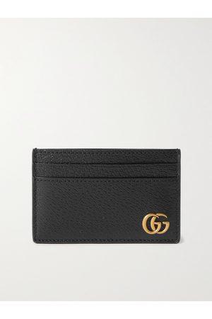 Gucci Homem Bolsas & Carteiras - GG Marmont Full-Grain Leather Cardholder
