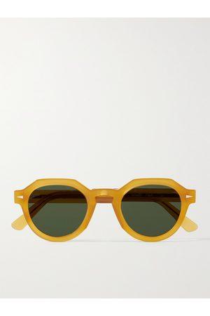 AHLEM Homem Óculos de Sol - Grenelle Round-Frame Acetate Sunglasses