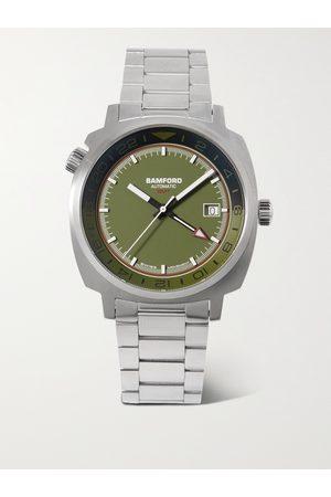 BAMFORD LONDON Homem Pulseiras - GMT Automatic 40mm Stainless Steel Watch