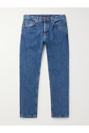 Nudie Jeans Homem Retos - Steady Eddie II Organic Denim Jeans