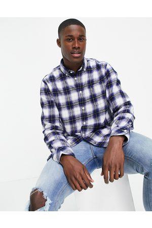 Pepe Jeans Homem Manga comprida - Keaton check long sleeve shirt-Blue