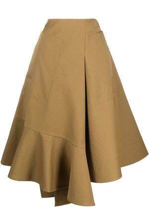 Colville Senhora Saias Midi - Asymmetric midi skirt