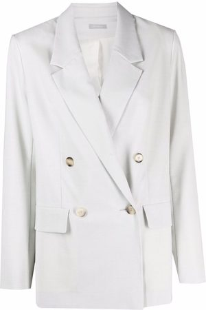 12 STOREEZ Double-breasted fitted blazer