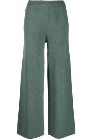 12 STOREEZ Wide-leg knit trousers