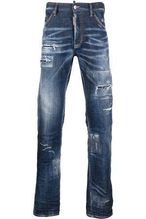 Dsquared2 Homem Bootcut & Boca-de-sino - Distressed bootcut jeans