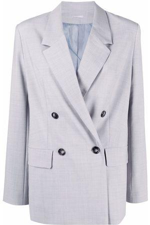 12 STOREEZ Senhora Blazers - Double-breasted wool-blend jacket