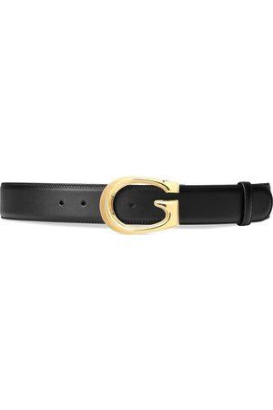 Gucci Homem Cintos - G-buckle leather belt