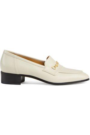 Gucci Senhora Oxford & Moccassins - Horsebit block-heel loafers