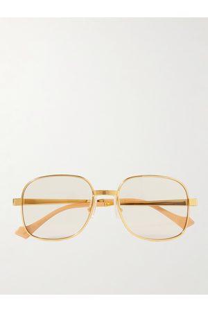 Gucci Homem Óculos de Sol - Round-Frame -Tone Sunglasses