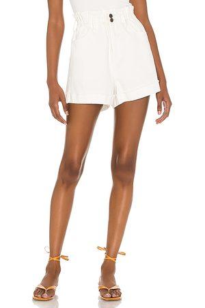 Show Me Your Mumu Emilia Shorts in - White. Size L (also in S, XS, M).