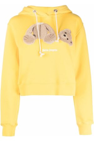 Palm Angels Senhora Tops de Cavas - Bear print hoodie