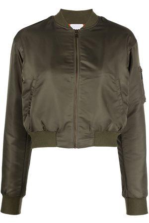 JOHN ELLIOTT Senhora Casacos - Hunter cropped bomber jacket