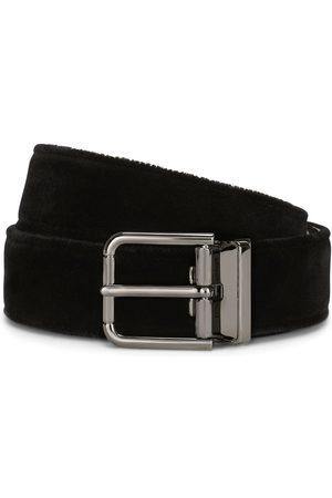 Dolce & Gabbana Debossed-logo buckle belt