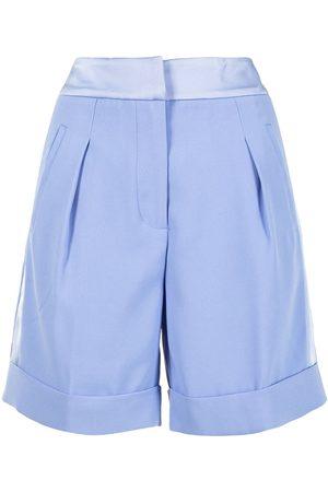 Twin-Set Senhora Calções - Tailored pleated shorts