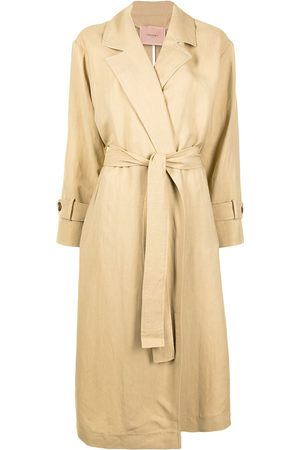 Twin-Set Belted trench coat