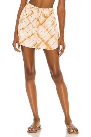House of Harlow X Sofia Richie Ilora Short in - Orange. Size L (also in S, XXS, XS, M, XL).