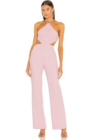 NBD Senhora Macacões - Ronan Jumpsuit in - Pink. Size L (also in XXS, XS, S, M, XL).