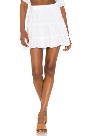 Show Me Your Mumu Mulher Mini-saias - Devon Mini Skirt in - White. Size S (also in XS).