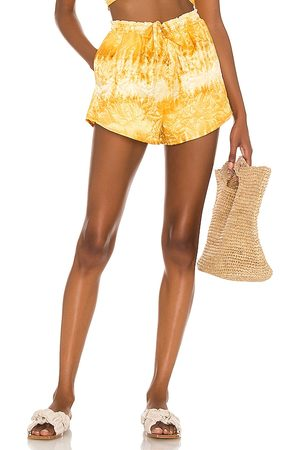 House of Harlow X Sofia Richie Alyssa Short in - Yellow. Size L (also in XXS, XS, S, M, XL).