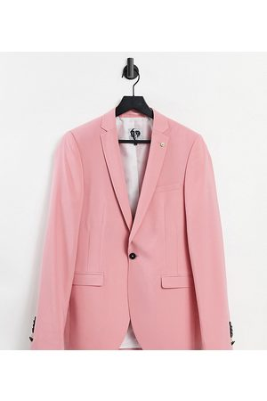 Twisted Tailor TALL suit jacket in rose pink