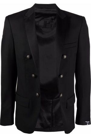 Balmain Homem Blazers - Double-breasted wool blazer
