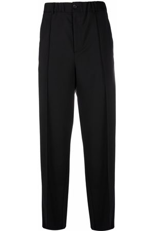 Valentino Homem Calças Formal - Tailored straight-leg trousers