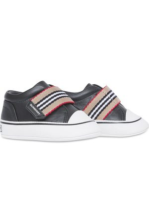 Burberry Icon stripe-detail slip-on sneakers