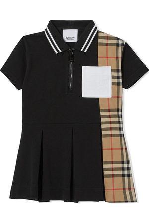Burberry Kids Vintage check-print polo shirtdress