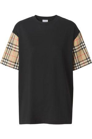 Burberry Vintage Check-sleeve T-shirt