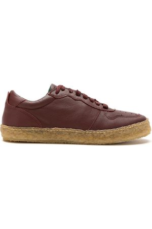 MATRI Crepe leather trainers