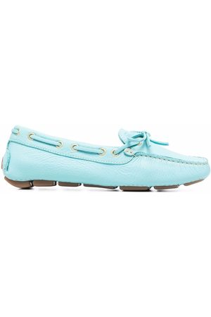 DEE OCLEPPO Senhora Oxford & Moccassins - Bow-embellished driving loafers