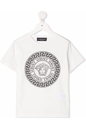 VERSACE Logo-print T-shirt