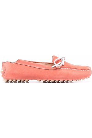 Dee Ocleppo Senhora Oxford & Moccassins - Contrast stitch driving loafers