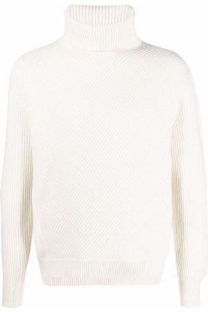 Alexander McQueen Roll neck knitted jumper