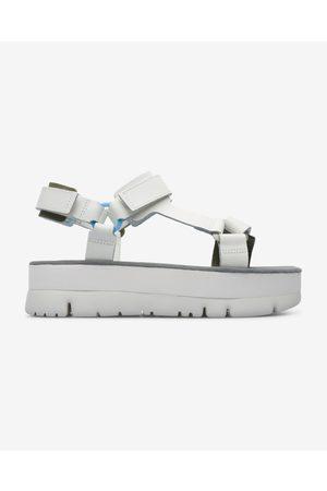 Camper Oruga Sandals White
