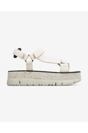 Camper Senhora Sandálias - Oruga Up Sandals White