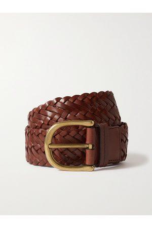 Tom Ford Homem Cintos - 4cm Woven Leather Belt