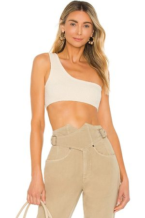 Lovers + Friends Odessa Top in - Ivory. Size L (also in XXS, XS, S, M, XL).