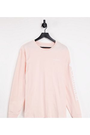 Columbia North Cascades long sleeve t-shirt in pink Exclusive at ASOS