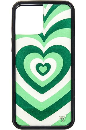 Wildflower IPhone 12 Pro Max Case in - Green. Size all.