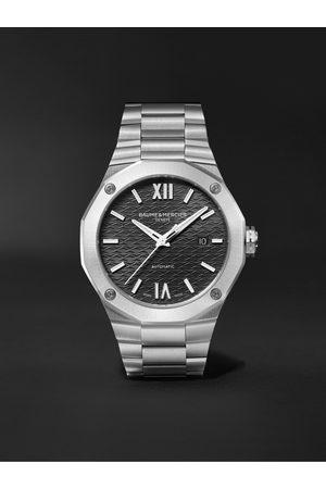 BAUME & MERCIER Homem Relógios - Riviera Automatic 42mm Stainless Steel Watch, Ref. No. M0A10621