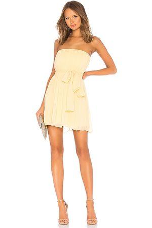 NBD Paradisco Mini Dress in - Yellow. Size L (also in XS, S, M, XL).