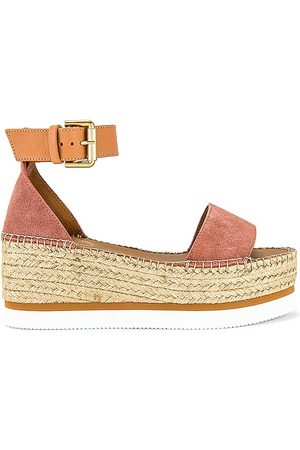 See By Chloe Glyn Platform Sandal in - Rose. Size 35 (also in 37, 38, 39, 36, 40, 41).