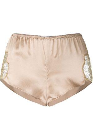 Gilda & Pearl Senhora Calções - Gina silk shorts
